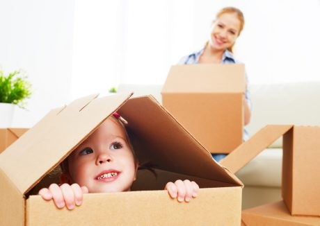 Tips for moving with kids in the summer heat
