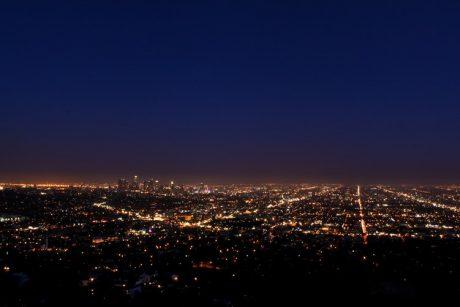 City of Angels at night