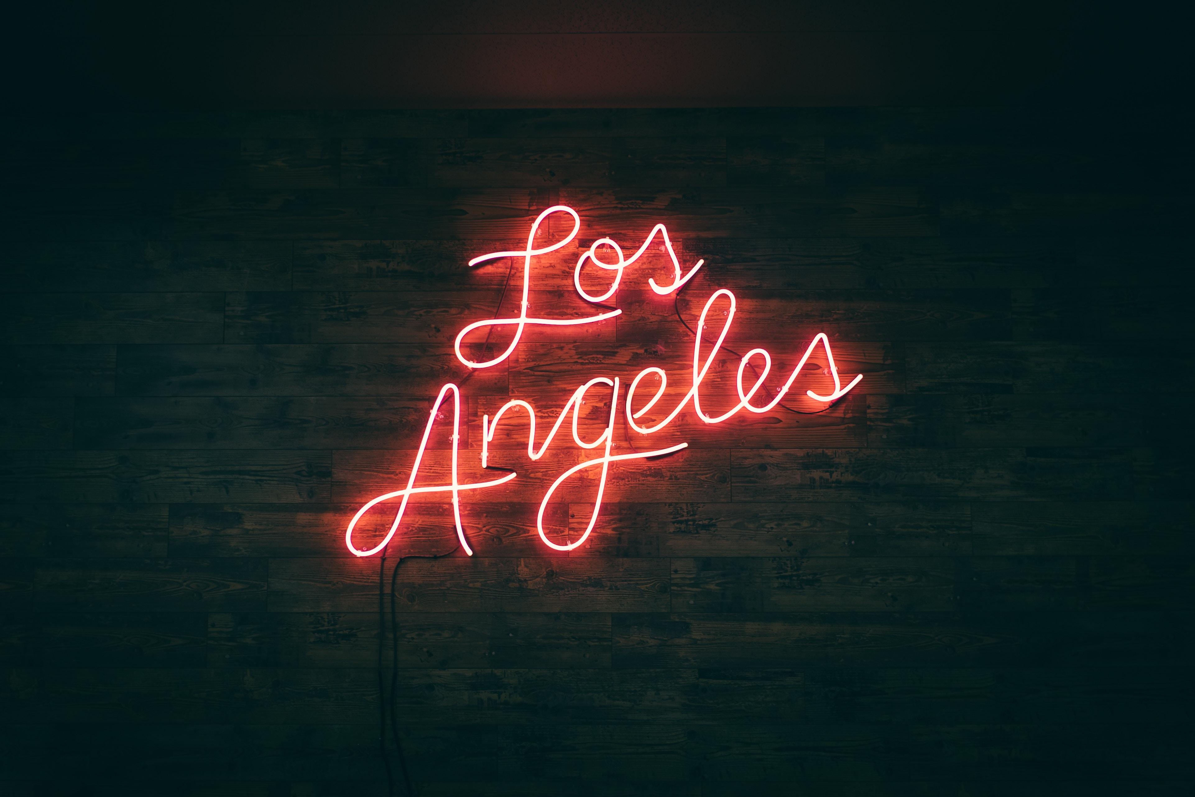 Los Angeles sign.