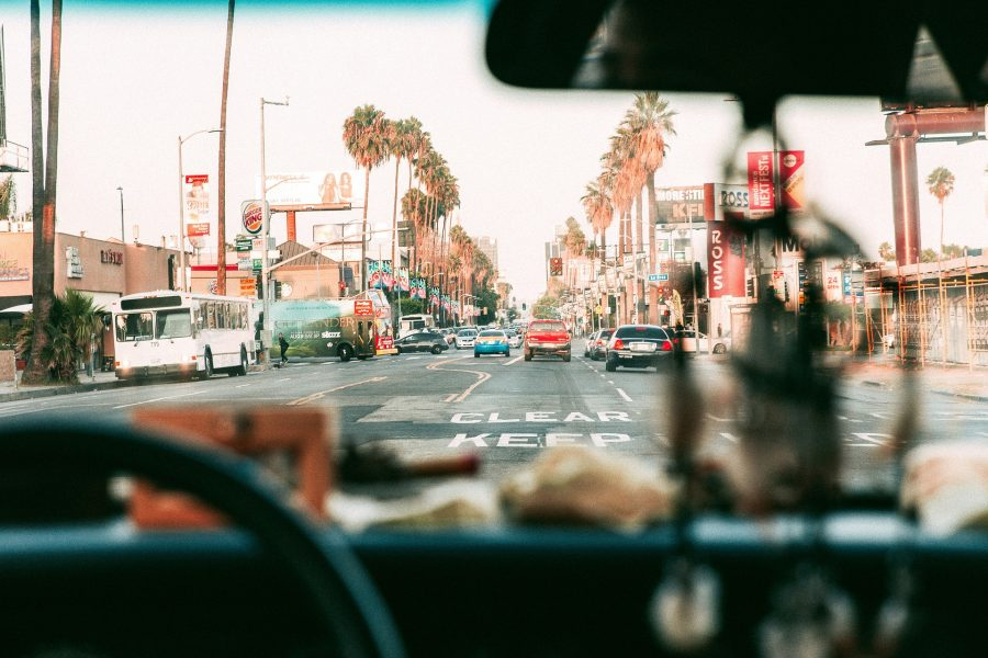 A view on the streets of Los Angeles- a city with the best neighborhoods