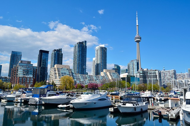 Magnificent view of the city you will be able to see after moving from LA to Toronto..