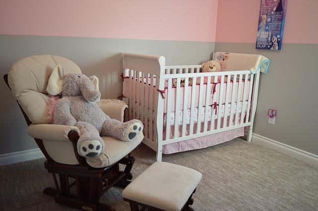 A nursery.