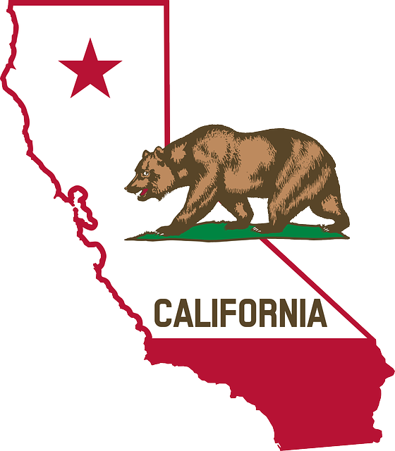 Looking at the CA map before moving from Mississippi to California.