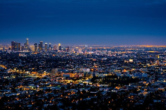 City of Los Angeles, representing getting to know LA lifestyle before moving for studies.