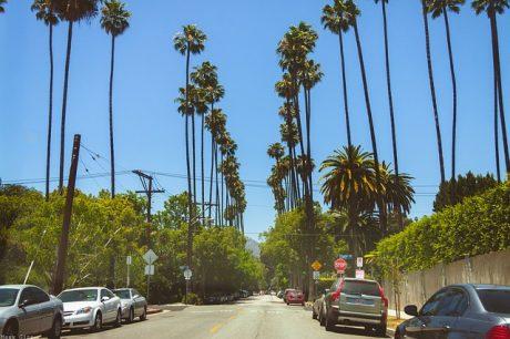 California, street.