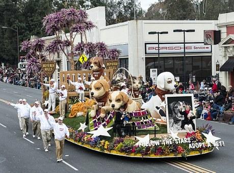 Pasadena parades will knock your socks off after you move to Pasadena.