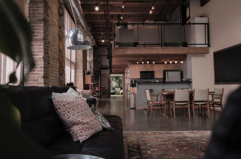 a typical loft in LA