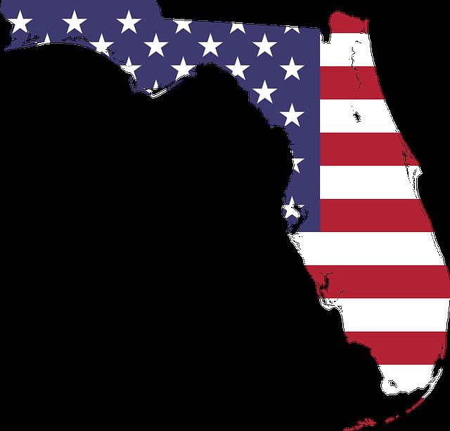 Florida map.