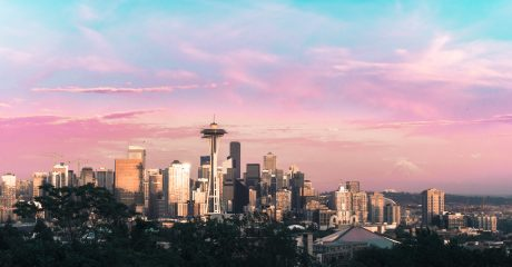 The City of Seattle, WA, admirable skyline