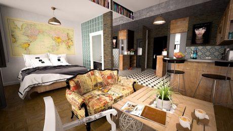 Apartment - Use stylish decor ideas for your LA apartment.