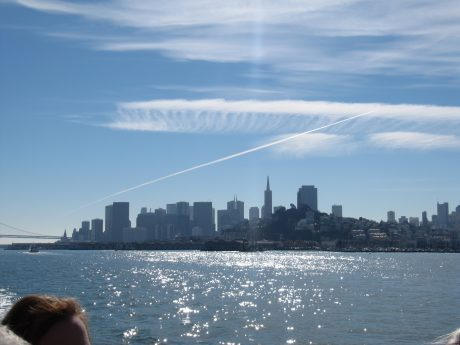 A wonderful view on the city of San Francisco and the bay