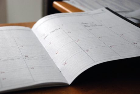 A calendar to help you define the date for your move from NYC to LA with a toddler.