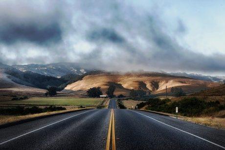 Road in California.